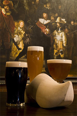 Rembrandt&#039;s &quot;Watch&quot; is over pints and tasty bites.