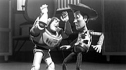 Toy vey: Buzz Lightyear and Woody ain't the Marx Brothers. Maybe the Parker Brothers.