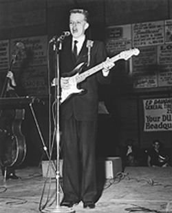 The Blond Bomber: Ronnie Dawson first played the Jamboree in 1958, after winning the talent contest.