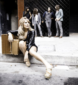 Grace Potter's got legs,  and she knows how to use them.