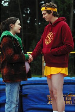Juno is a comedy by Jason Reitman about how super-sweet it is for a 16-year-old high school girl not to have an abortion.