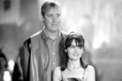 Rhys Ifans and Shirley Henderson are two points on a love triangle in Once Upon a Time in the Midlands.