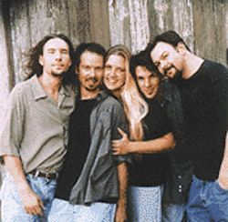 The Groobees swear singer Susan Gibson's (third from left) newfound wealth hasn't strained their relationship.
