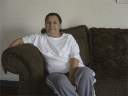 Blanca Valenzuela was a longtime union steward at the plant. She lost her home and suffered a heart attack after getting fired in 2002.