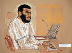 Omar Khadr's case presents President Obama one of his toughest challenges: what to do with the only Westerner in Gitmo, whose family remains radical and who might still be a threat to the United States. His case, today, is in limbo.