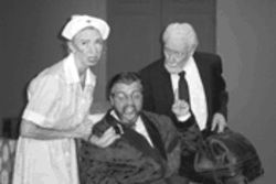 Look who came to dinner: Jan Gleaves, B.J. Cleveland and Gardner Williams star in a comedy classic.