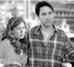 Ray Romano--with Maura Tierney--stops by Mooseport on his way back to the small screen, where he belongs.