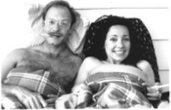Campout: Counselor Beth (Janeane Garofalo) and the astrophysicist (David Hyde Pierce) she loves