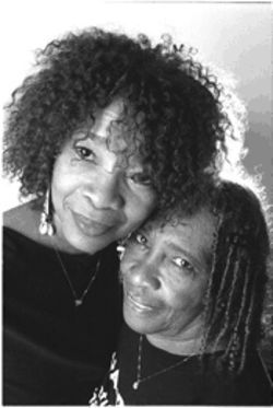 "Dedra Arthur, left, and her mother, Gwen Swinton, were born with what many African-Americans consider ""good hair."" But they decided to shed the ""old slave mentality"" that identifies straight hair with beauty."