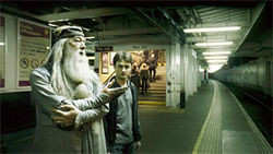 """You see, Harry, you must take the A-train if you want to get to Harlem."""