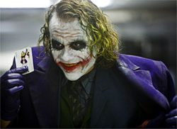 Yeah, Heath Ledger was a genius.