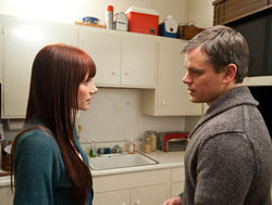 Bryce Dallas Howard and Matt Damon serve up some stale baloney.