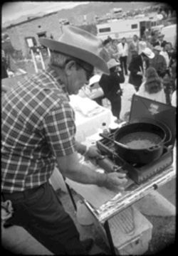 In the cook-off's early days, shown here in a photo from 1972,  the rules were less stringent and the competition more relaxed.