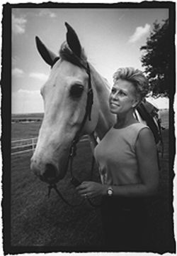 In 1996, Linda Tedesco paid $20,000 for the exclusive right to give riding lessons at the equestrian center. She took up the boarders' cause, quit paying rent, and was evicted in 1997.