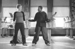 Safety dance? Not bloody likely. Julia Stiles and Sean Patrick Thomas don't light a disco inferno, but they're getting warm.
