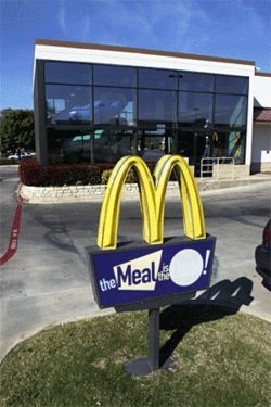 Ken Lobato's McDonald's in Southlake: The fast-food  giant says the rat never passed through this restaurant.