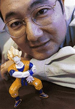 Gen Fukunaga awaits the day when Dragonball Z merchandise brings in the Pokémon-ey.