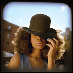 Erykah Badu stripped on Dealey Plaza. Some people had a problem with that.  Some people are strange.