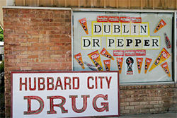 The Dr Pepper Drug Store in Dublin