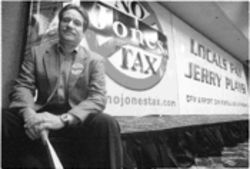 David Capps wants to know why his business should be taxed to pay for Jerry Jones' business.
