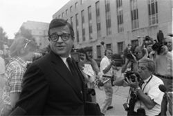 Chuck Colson, the Watergate felon turned born-again Christian, founded Prison Fellowship Ministries in 1976.