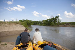 Donny Hutchinson and Bret Bolton studied the West Fork and planned for a year before attempting their Fort Worth-to-Dallas paddle.