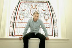 John Vanderslice owns a pretentious past and a pretentious future, as well as a closet full of bad shirts.