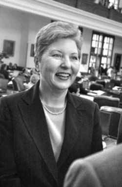 State Representative Arlene Wohlgemuth, a Republican from Burleson, was pro-marriage before there was a movement, attempting to repeal no-fault divorce and pass covenant marriage laws in the Texas Legislature.