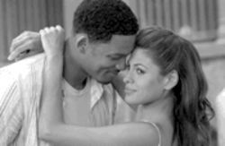 The Fresh Prince of Stale Air: Will Smith and Eva Mendes cuddle up in this stay-away romantic comedy.