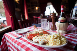 Kenny's Italian Kitchen dishes out the familiar- and such large portions!