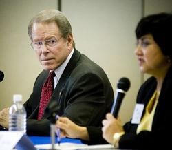 Lowell Cannaday and Lupe Valdez have engaged in several lackluster debates in their race for Dallas County sheriff.