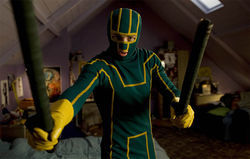 Aaron Johnson as Kick-Ass