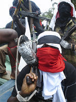 Members of the Niger-Delta Freedom Fighters held Plake hostage at their camp for three weeks.