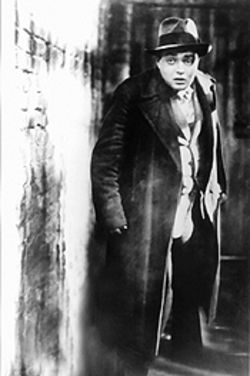 Peter Lorre is a guilty man hunted by a guilty socitety in M