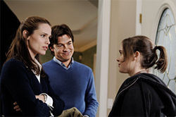 The yuppies want your child—Jennifer Garner, Jason Bateman and Ellen Page in Juno.