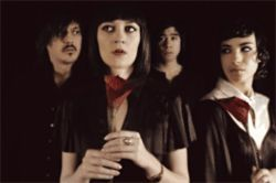 Ladytron provides disaffected keyboard pop rock you can dance to.