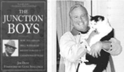 In happier days Jim Dent had best sellers like The Junction Boys to celebrate. And in the acknowledgments he always credited his companion cat, Rolly, right.