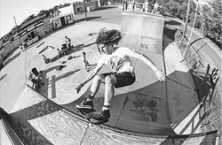 Craig Johnson rose to the top of Dallas' underground skate scene in the '80s. Now he reconnects with the rest of the old punks each week at the Guapo Skillz Center, a private skatepark in the Cedars.