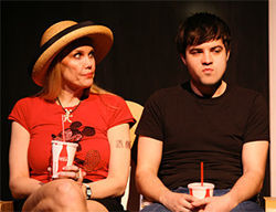 Relations between Lee (Sue Loncar) and her teenage son Hank (Matt Savins) are consistently tense, even during a trip to Disney World, in  Marvin's Room.