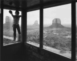 "Skeet McAuley's ""Navajo Window Washer, Monument Valley Tribal Park, Arizona,"" from 1984"