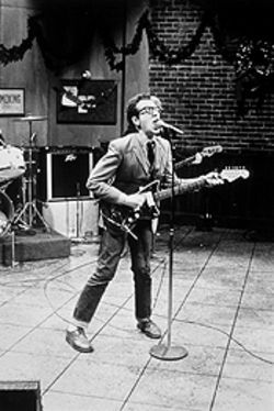 "Saturday Night Live: The Musical Performances couldn't live without Elvis Costello's ""Radio, Radio."""