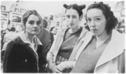 Twisted sisters: from left, Shirley Henderson, Gina McKee, and Molly Parker are quietly enthralling in Wonderland.