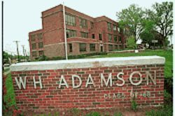 One of the oldest and smallest high schools in Dallas, Adamson has become a meeting ground for today's minority students and the white alumni of yesteryear.