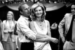 Tin cup meets drinking cup: Kevin Costner and Joan Allen