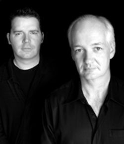 Brad Sherwood and Colin Mochrie