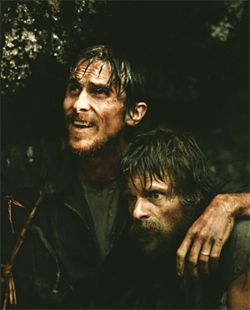 Christian Bale and Steve Zahn in a movie about that other disastrous U.S. intervention