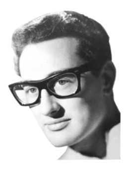 Buddy Holly, shortly before the accident that changed his life