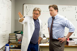 Harrison Ford and Brendan Fraser star in Extraordinary Measures.