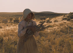 Michelle Williams on the lone prairie.
