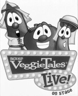 Oompah, oompah: Larry, Bob and the VeggieTales gang  go live.